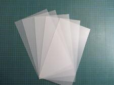 Schablonenfolie, Stencils, 10Bogen Schablonenfolie 0,30mm stark - Profimaterial