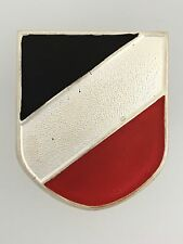 Germany/German WWII Afrika Korps metal shield badge for the tropical pith helmet