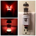 12AX7 Style Vacuum Tube Amber LED Night Light made with Valve from a Gibson Amp
