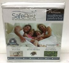 SafeRest Premium Hypoallergenic Waterproof Mattress Protector, Queen Size