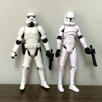 "Star Wars Black Serise Stormtroopers & No. 5 Clone Trooper 3.75"" Action Figure"