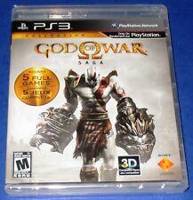 God of War Saga Sony PlayStation 3 *New! *Factory Sealed! *Free Shipping!