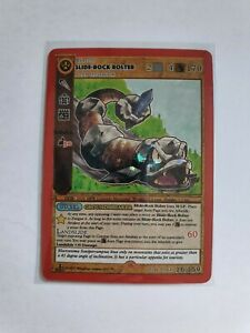 Metazoo Cryptid Nation 1st Edition Slide-Rock Bolter Reverse Holo IN HAND UK
