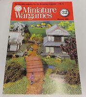 Miniature Wargames Number 32, january 1986 oop SC
