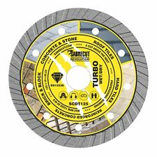 SabreCut 125mm Professional Turbo Cutting Disc Diamond Blade for Angle Grinders