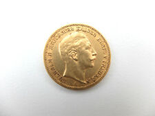 Muenze-Kaiserreich-20-Mark-Preussen-Wilhelm-II-1897 A -900 Gold