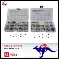 820 pc Stainless Steel Metric + Imperial Grub Set Screw Assortment kit .