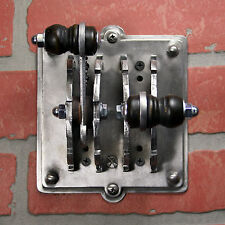 Industrial Laboratory Light Switch Cover - Double Toggle Steampunk Switch Plate