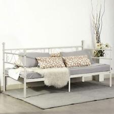 EGGREE Cadre de lit en Métal Structure lit banquette en Lit Simple pour Enfants