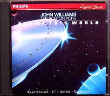 John WILLIAMS & BOSTON POPS OUT OF THIS WORLD Star Trek Alien Return of Jedi CD