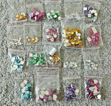 jewelry color Mosaic crystals décor sew set young hot sexy girl women gift idea