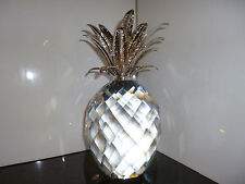Swarovski ANANAS PINEAPPLE Rhodium Silber GIGANT 7507 260 002 / 010 258 ca. 25cm