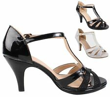 Unbranded Women's Synthetic Leather Mary Janes Stiletto Heels