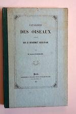 MARCHAND Catalogue des Oiseaux observés en Eure-et-Loir 1873 Ornithologie