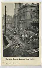 More details for (lb7324-438) worcester electric tramway siege, c1910 unused