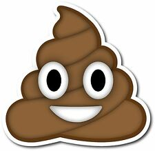 EMOJI POO TEXT MESSAGING DECAL STICKER I.M. INSTANT MESSAGING