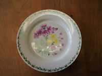 "Thomson Pottery FLORAL GARDEN Dinner Plate 10 1/2"" Asst Designs  6 available"