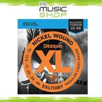 D'Addario EXL110BT XL Balanced Tension Light Electric Guitar Strings - Daddario