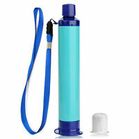 Survival Personal Water Filter Straw Outdoor, Survival, Emergency, First Aid Kit