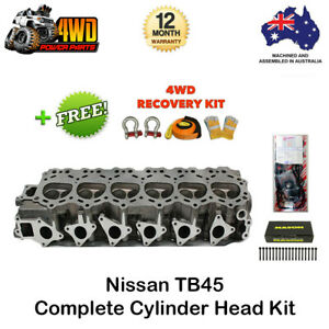 Nissan Patrol GU Y61 TB45 Cylinder Head Kit with VRS Gasket, Bolts, Recovery Kit