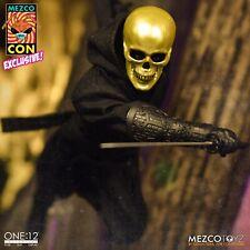 Mezco Exclusive One12 House Of The Golden Skulls Gold Ninja - NEW MezcoCon 2020