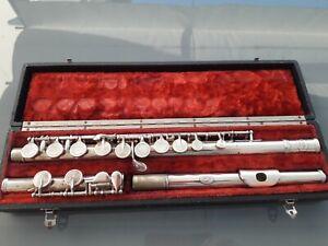 Flute Traversière Noblet Paris Métal Argenté