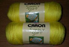 Caron Simply Soft Brites Yarn 6 Oz Super Duper Yellow 1 Ball