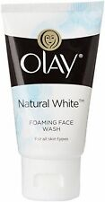 Olay Natural White Foaming Face Wash Cleanser For Refreshing Skin - 50 Gram