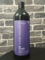 Matrix Total Results So Silver Shampoo 33.8oz ( NEW PACKAGING ) Free 2-Day Ship!