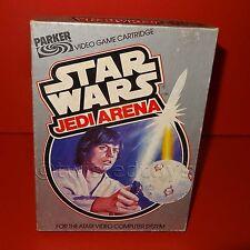 Vintage 1983 80s Atari 2600 Star Wars Jedi Arena Video Juego Cartucho En Caja