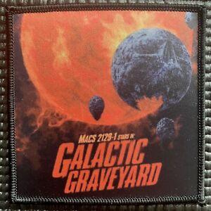 "NASA JPL ""GALACTIC GRAVEYARD"" EXOPLANET EXPLORATION SPACE PATCH- 3.5"""