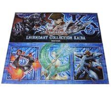 Konami YuGiOh Official Playmat Kaiba Legendary Collection Kaiba board mat 2 side