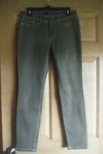 Cambio Jeans Size 10 Slim ankle stretch brown pants, EUC