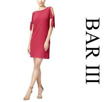 BAR III  SEXY  CHIC COLD SHOULDER   COCKTAIL SHIFT  DRESS  Sz L   NWT $ 70