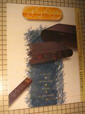 "Celeste Original ""French Only"" Amplifier BrochurePW-5000,P-5002,W-4150,HT-3"