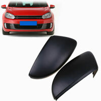 Wing Mirror Cover Cap Matte Black For VW Golf/R32/GTI/Rabbit 2010 2011 2012 2013