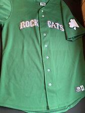 New Britain Rock Cats Men's Size 48 Irish Night Jersey signed Byron Buxton 2014