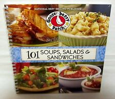 Gooseberry Patch 101 Soups, Salads & Sandwiches - Spiral-Bound Edition - New