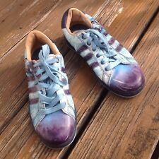 Adidas Muhammad Ali Eric Bailey Dedication Blue Sneakers Mens Sz 6 Shoes RARE
