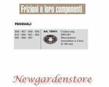 Frizione monodisco 15941 3 leve motocoltivatore PASQUALI 956 957 958 959 970 990