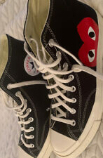 comme des garcons converse size 11 Authentic NWOT Never Worn High Top Chucks