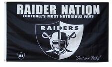 Las Vegas Raiders 3 x 5 feet Raider Nation banner flag
