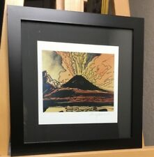 Andy Warhol, Hand Signed special Print Vesuvius 1986