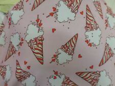 2   YD   WEIGHT  PRINT SPANDEX  NYLON LYCRA J429 made in the USA