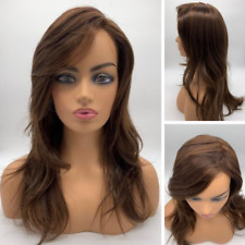Imperfect Ellen Wille Lace Front Remy Human Cascade Wig Dark Chocolate Mix