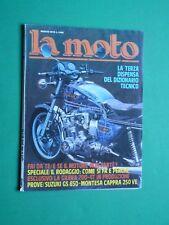 LA MOTO Marzo 1979 Gilera 200-4T Suzuki GS850 Montesa Cappra 250 VE Laverda 1200