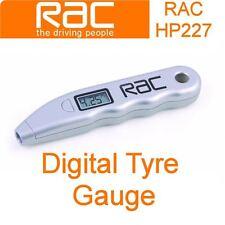 New RAC Digital Tyre Pressure Gauge - LCD Display