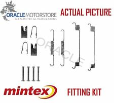 NEW MINTEX REAR BRAKE SHOES SET FITTING KIT PIN SPRINGS GENUINE QUALITY MBA789