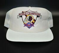 Washington Redskins Super Bowl XXVI Champions New Era Vintage Snapback Cap Hat
