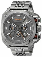 Men's Diesel Bamf Chronograph Steel Strap Watch DZ7344